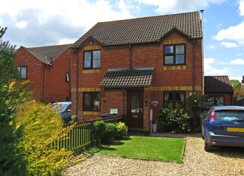 Thumbnail 3 bed semi-detached house for sale in Two Fields Way, Bawdeswell, Dereham