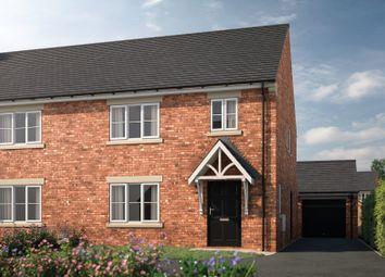 Thumbnail 4 bed semi-detached house for sale in Plot 3, The Elder, Westfield Gardens, 84 Westfield Road, Horbury