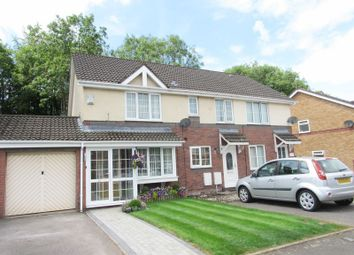 Thumbnail 2 bed semi-detached house for sale in Coedriglan Drive, Michaelston-Super-Ely, Cardiff