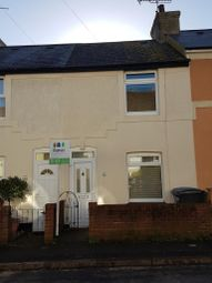 Thumbnail 2 bedroom terraced house to rent in Lowther Road, Dover