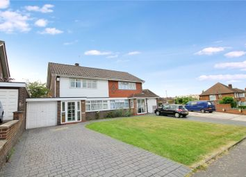 Thumbnail 3 bed semi-detached house for sale in Edison Road, Welling, Kent
