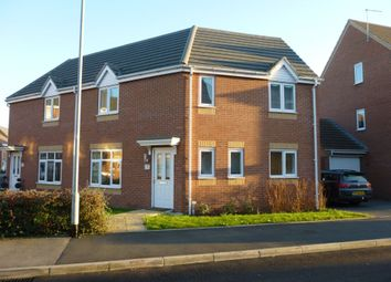 Thumbnail 3 bed semi-detached house to rent in Balata Way, Horninglow, Burton.
