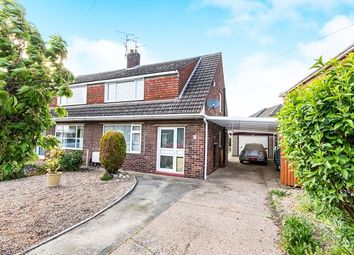 Thumbnail 3 bed semi-detached house for sale in Wetherby Crescent, North Hykeham, Lincoln