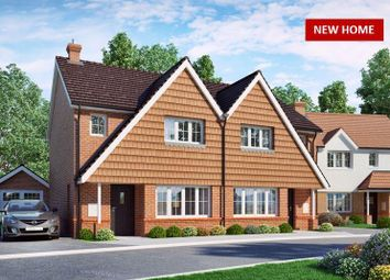 Thumbnail 3 bed semi-detached house for sale in Horam, Heathfield