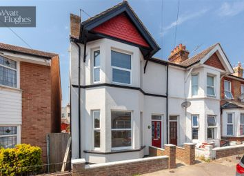Thumbnail 3 bed end terrace house for sale in North Road, Bexhill-On-Sea