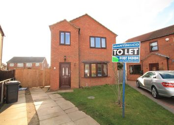 Thumbnail 3 bed detached house to rent in Cherry Tree Grove, Dunscroft, Doncaster
