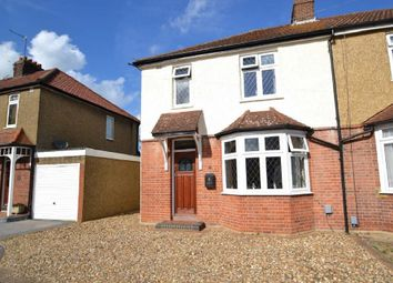 Thumbnail 3 bed semi-detached house for sale in Bushby Avenue, Broxbourne