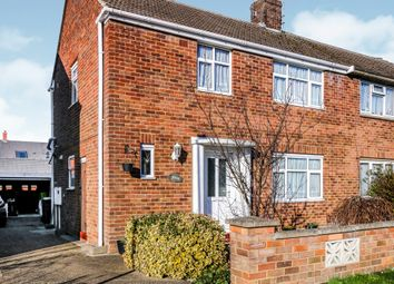 Thumbnail 3 bed semi-detached house for sale in Osborne Close, Rushden