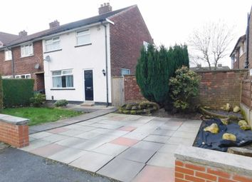 Thumbnail 3 bedroom end terrace house for sale in Meadow Close, Woodley, Stockport