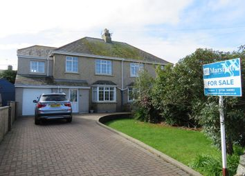Thumbnail 4 bed semi-detached house for sale in Rosparvah Gardens, Heamoor, Penzance