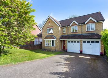 Thumbnail 5 bedroom detached house for sale in Limekiln Close, Royston