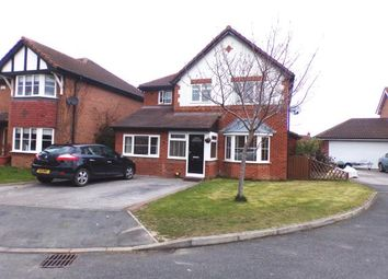 Thumbnail 4 bed detached house for sale in Lon Hafren, Rhyl, Denbighshire