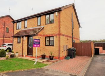 Thumbnail 2 bed semi-detached house for sale in The Hollins, Calverton