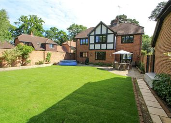 Thumbnail 5 bed detached house for sale in Napier Drive, Camberley, Surrey