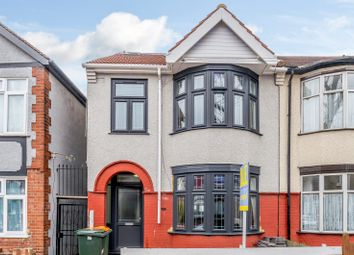 Thumbnail 4 bed semi-detached house for sale in 136 Landseer Avenue, London