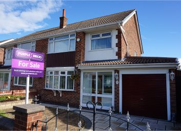 Thumbnail 3 bed semi-detached house for sale in Northcote Road, Wallasey