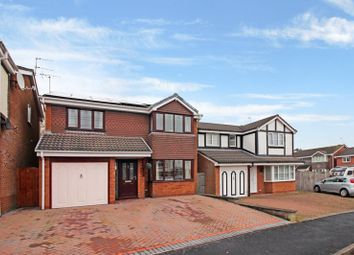 Thumbnail 4 bed detached house for sale in Eddisbury Drive, Waterhayes, Newcastle Under Lyme