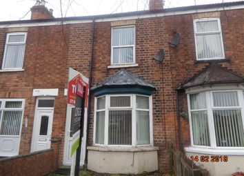 Thumbnail 2 bed terraced house to rent in Ropery Road, Gainsborough