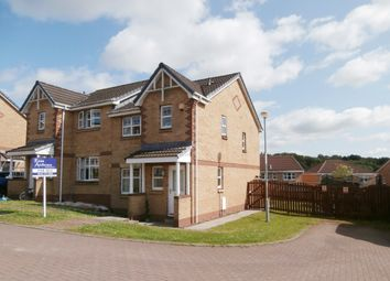 Thumbnail 3 bed semi-detached house for sale in Chatton Walk, Carnbroe, Coatbridge