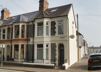 Thumbnail 3 bed end terrace house for sale in Fairoak Road, Roath, Cardiff