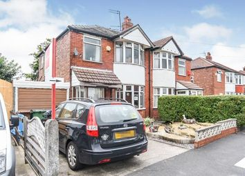 Thumbnail 3 bed semi-detached house for sale in Cranleigh Drive, Cheadle, Stockport, Greater Manchester