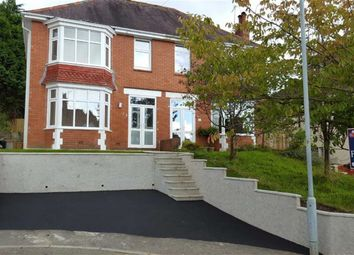 Thumbnail 3 bed semi-detached house for sale in Llwyn Arosfa, Sketty, Swansea
