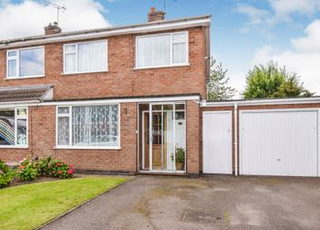 Thumbnail 3 bed semi-detached house for sale in Poulteney Drive, Quorn, Loughborough