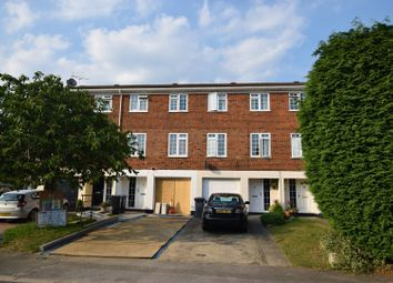 Thumbnail 3 bed town house for sale in Riversdell Close, Chertsey