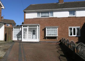 Thumbnail 2 bedroom semi-detached house for sale in Frankley Avenue, Halesowen