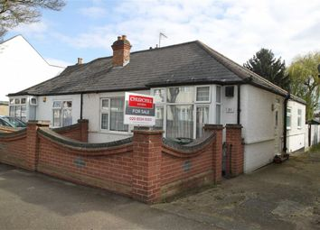 Thumbnail 2 bedroom semi-detached bungalow for sale in Burnham Road, London