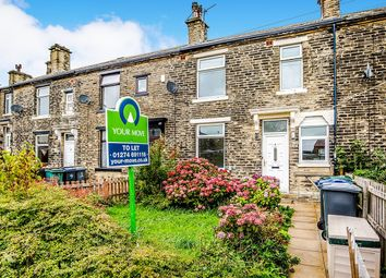 Thumbnail 2 bed terraced house to rent in Shaw Street, Low Moor, Bradford