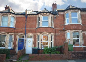 Thumbnail 3 bed terraced house for sale in Monks Road, Mount Pleasant, Exeter