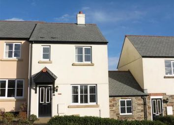Thumbnail 3 bed end terrace house for sale in Treverbyn Road, St. Austell