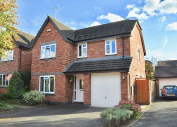 Thumbnail 4 bed detached house for sale in Fairwater Close, Evesham