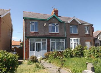 Thumbnail 3 bed semi-detached house for sale in Rhuddlan Road, Rhyl, Denbighshire
