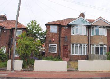Thumbnail 3 bedroom flat for sale in Swinley Gardens, Newcastle Upon Tyne