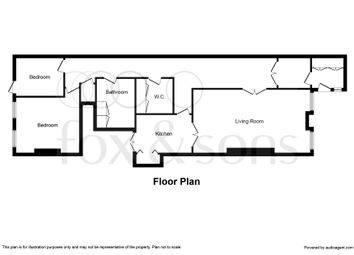 Thumbnail 2 bed flat for sale in Brunswick Square, Hove