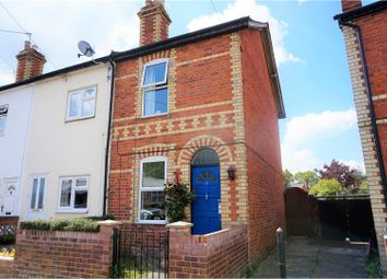 Thumbnail 3 bed end terrace house for sale in Downing Road, Tilehurst, Reading