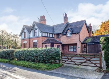 Thumbnail 3 bed semi-detached house for sale in Hewell Lane, Tardebigge, Bromsgrove