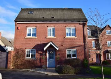 Thumbnail 3 bed detached house for sale in Millbrook Gardens, Blythe Bridge, Stoke-On-Trent
