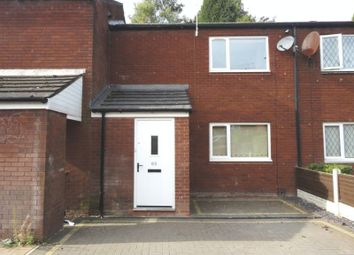 Thumbnail 2 bed terraced house to rent in Bridgwater Close, Walsall Wood, Walsall