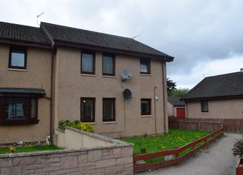 Thumbnail 2 bed flat to rent in Springfield Drive, Elgin, Moray