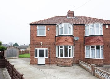 Thumbnail 3 bed semi-detached house for sale in Ingleton Walk, York