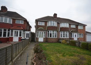 Thumbnail 3 bed semi-detached house for sale in Quinton Road West, Quinton, Birmingham