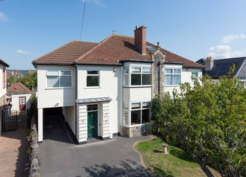 Thumbnail 4 bed detached house for sale in Brean Down Avenue, Weston-Super-Mare