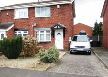 Thumbnail 2 bed semi-detached house to rent in Cecil Drive, Tividale, Oldbury