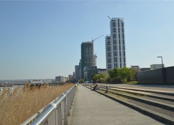 Thumbnail 1 bed flat for sale in The Waterman, Greenwich Peninsula, Lover Riverside, London