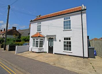 Thumbnail 3 bed detached house for sale in Beach Road, Caister-On-Sea, Great Yarmouth, Norfolk