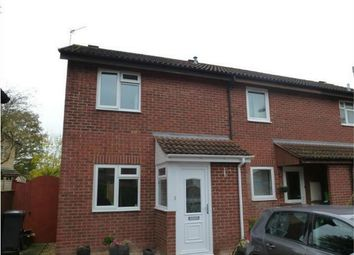 Thumbnail 2 bed end terrace house to rent in Clover Mead, Taunton