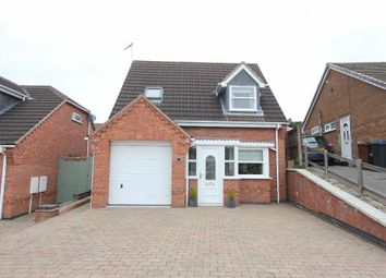 Thumbnail 3 bed detached house for sale in Balliol Road, Burbage, Hinckley